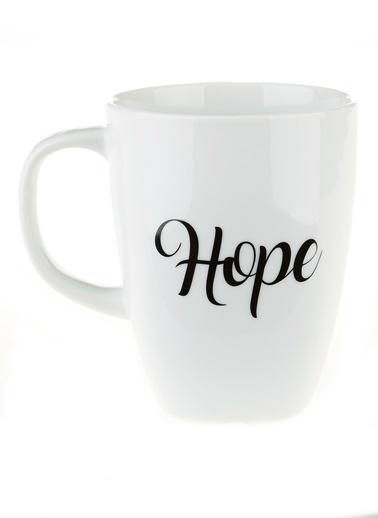 Morhipo Home Hope - Çift Taraflı Kupa Beyaz